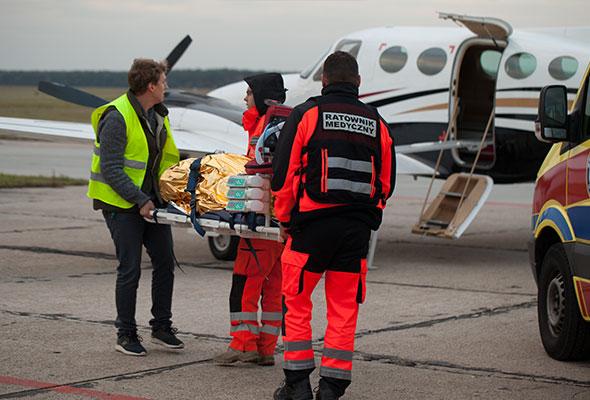 Transport chorych / poszkodowanych